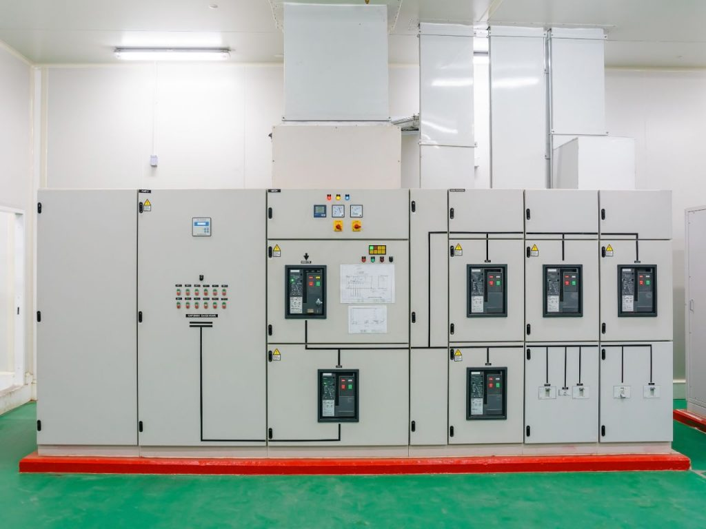 Industrial Electricial switch panel